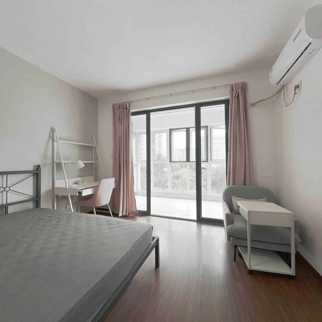 合租·紫金文苑 5室1厅 南卧室图