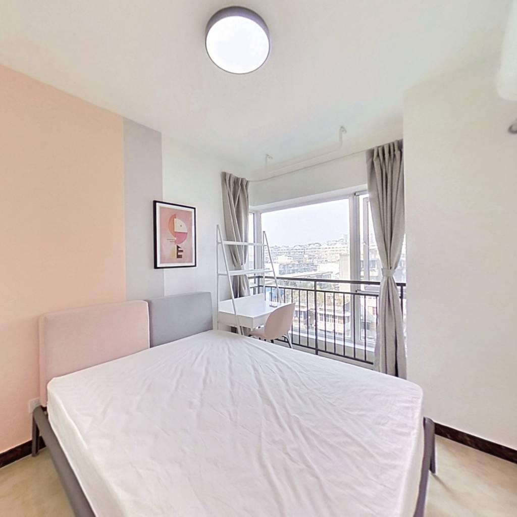 合租·熙城国际 3室1厅 西北卧室图