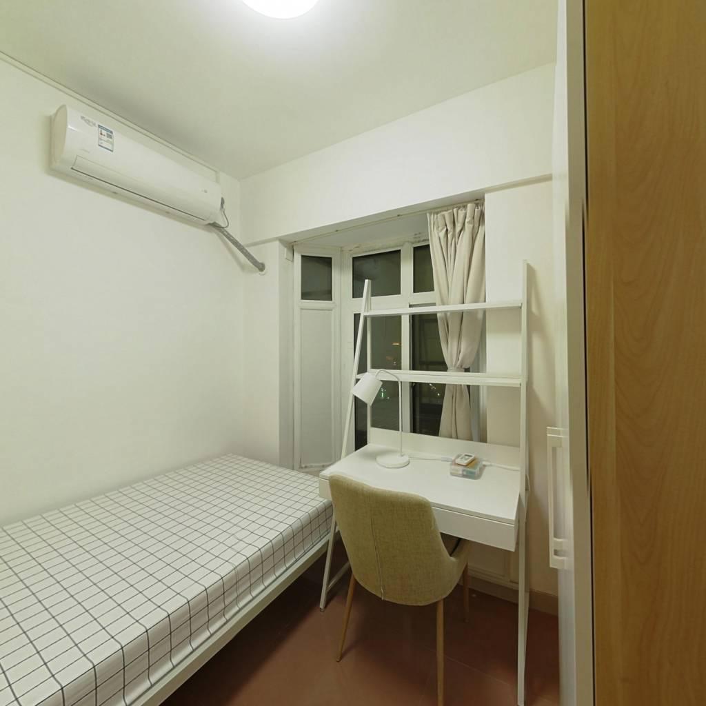 合租·国龙大厦 4室1厅 东卧室图
