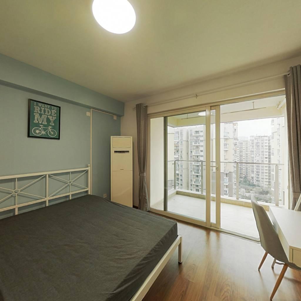 合租·南城都汇汇雅园二期 3室1厅 西卧室图