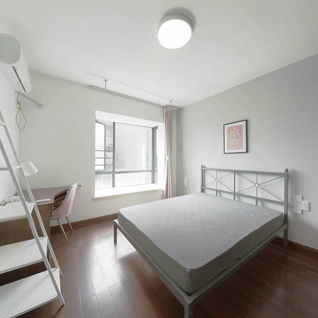 合租·水印康庭 4室1厅 南卧室图