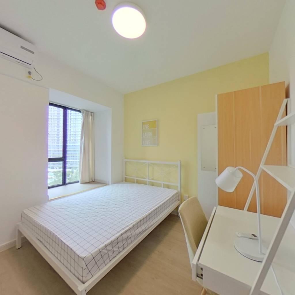 合租·金地天府城 4室1厅 北卧室图