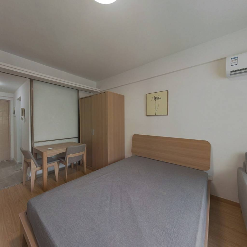 整租·托乐嘉单身公寓 1室1厅 南卧室图