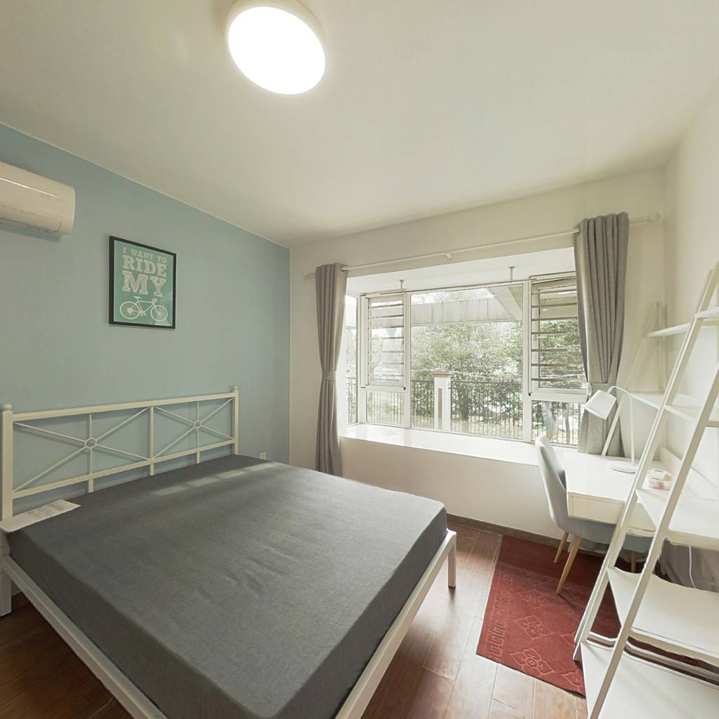 合租·蓝光凯丽香江 3室1厅 西南卧室图