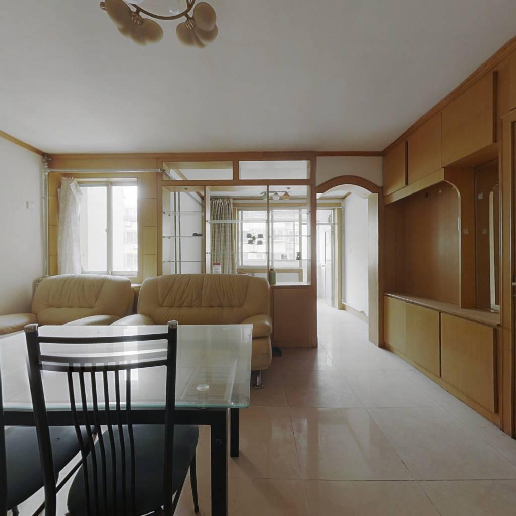西苑翠景园+正规两室两厅+出行便利+带地下室+双气