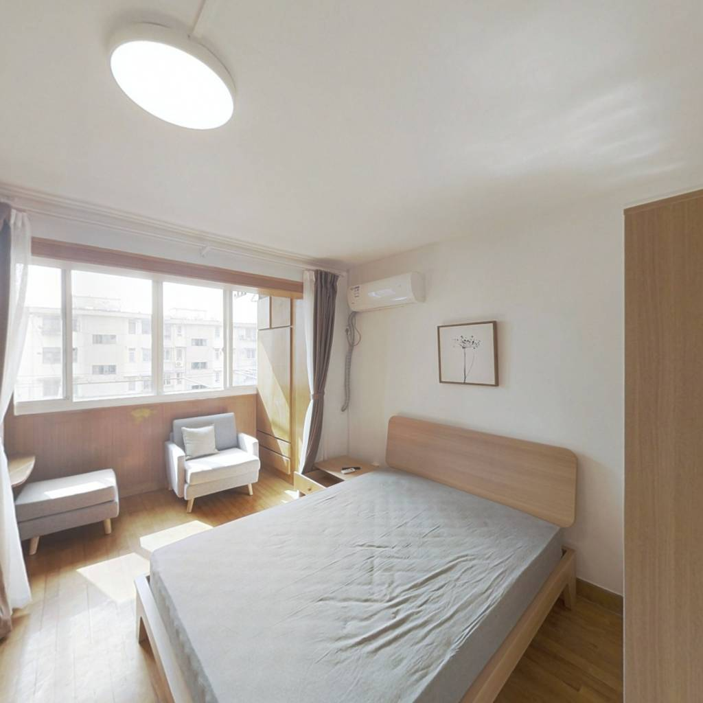 整租·市光三村 1室1厅 南卧室图
