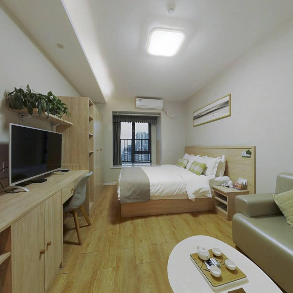 保利品质公寓,住家精装修,轻轨现房,家电齐全
