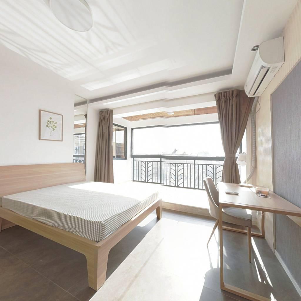 合租·钱江湾花园 4室1厅 西卧室图