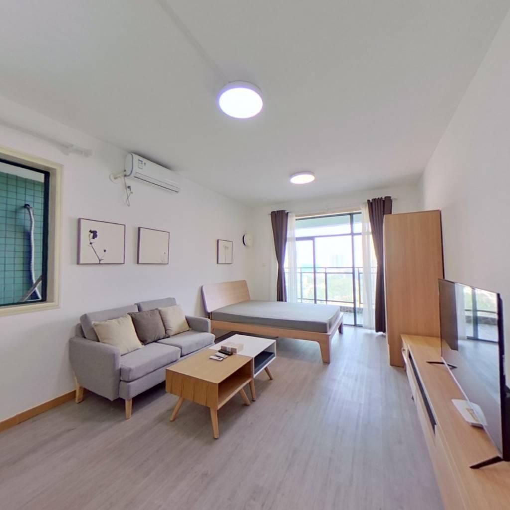 整租·现代城人民公园 1室1厅 东卧室图