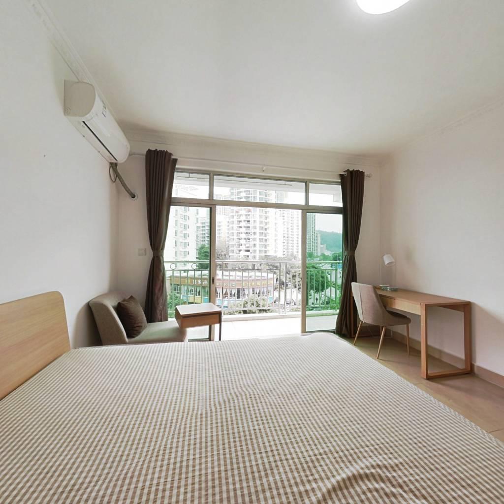 合租·信义假日名城一期沁芳园 4室1厅 南卧室图