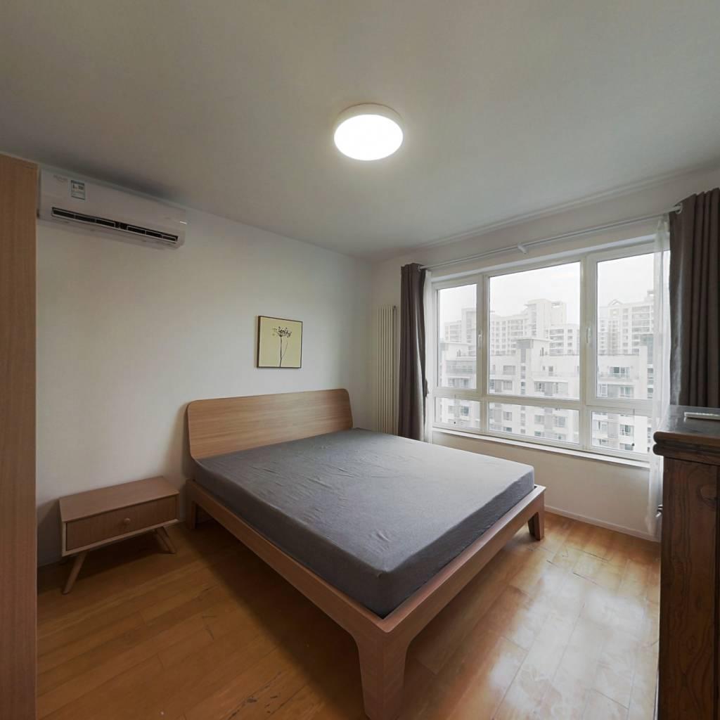 整租·苹果社区南区 2室2厅 南卧室图
