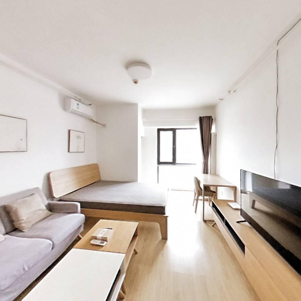 整租·中国铁建广场 1室1厅 东卧室图