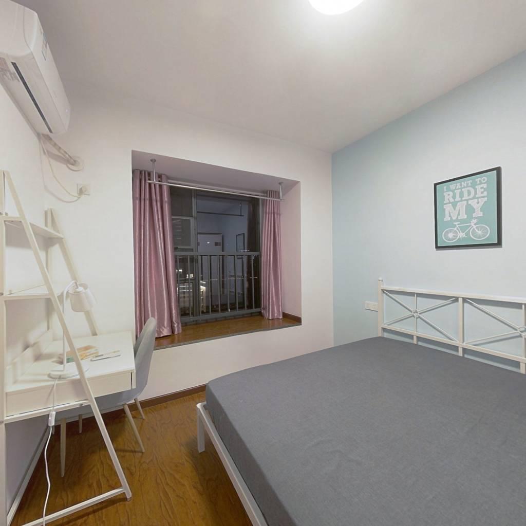 合租·红桥新城 3室1厅 西卧室图