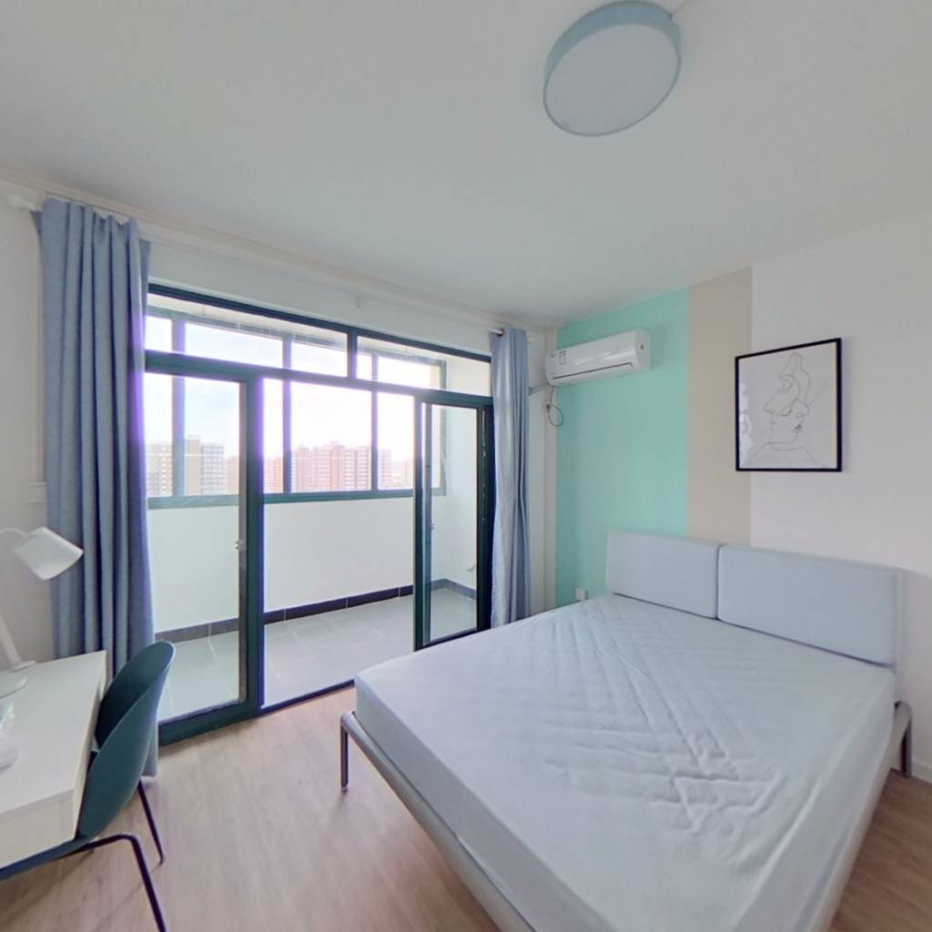 合租·川杨新苑(三期) 3室1厅 北卧室图