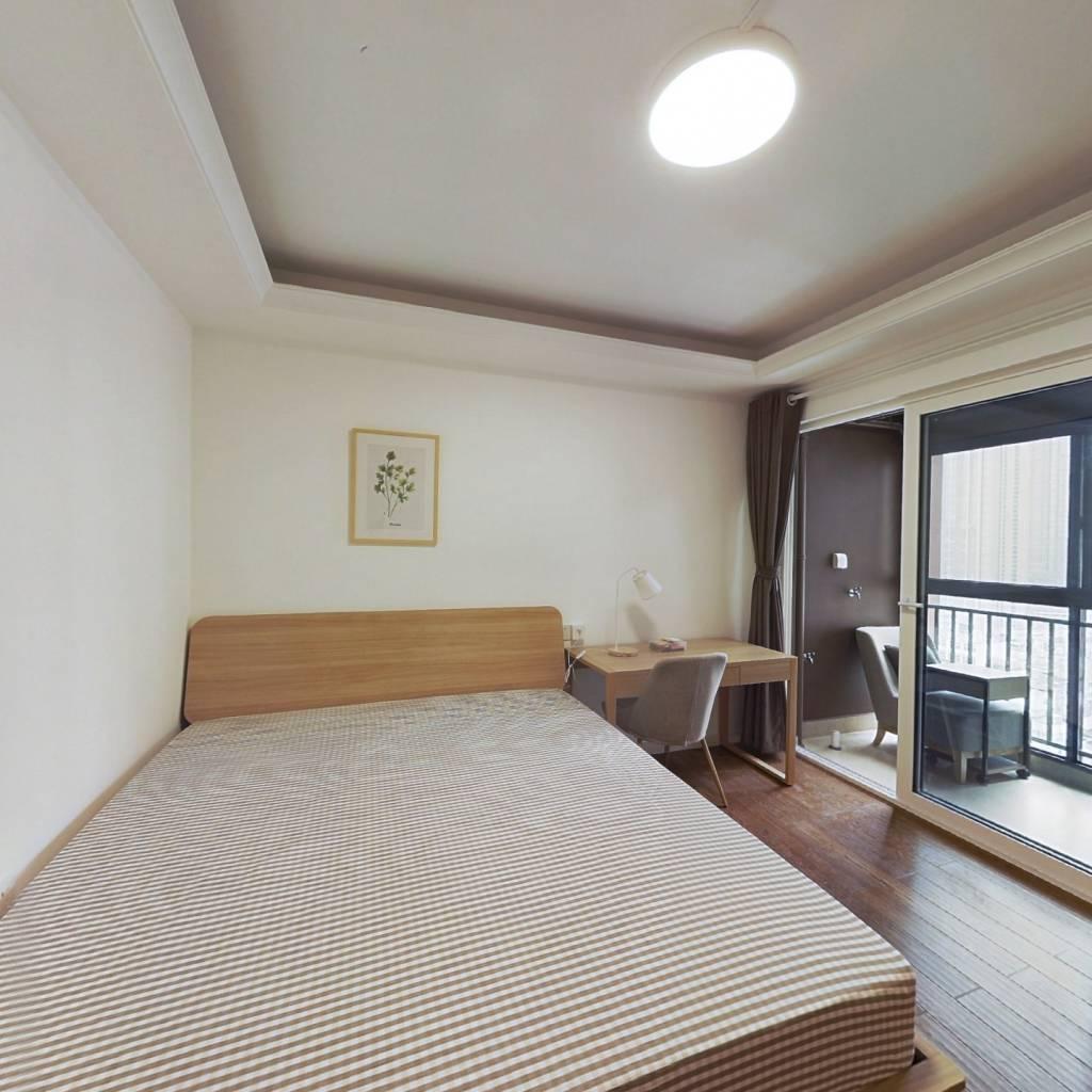 合租·万科金域时代 4室1厅 北卧室图