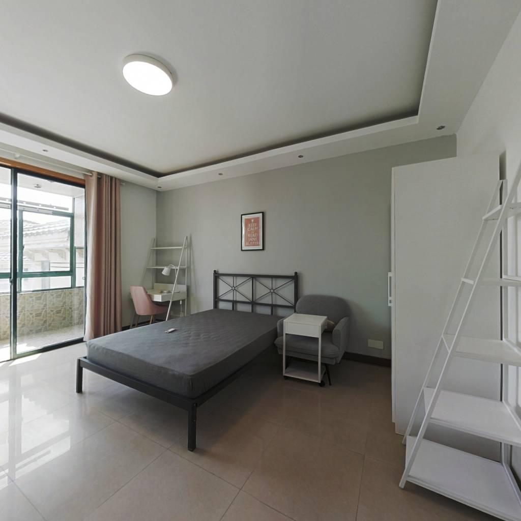 合租·市政天元城 4室1厅 南卧室图