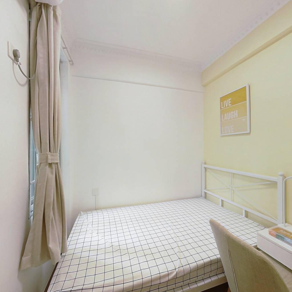 合租·东怡新区东倩园 4室1厅 北卧室图