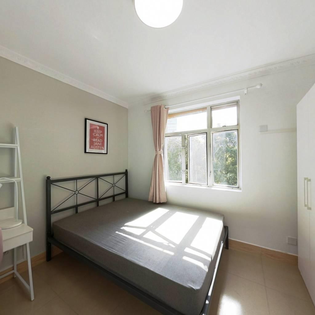 合租·桃源村一期 4室1厅 北卧室图