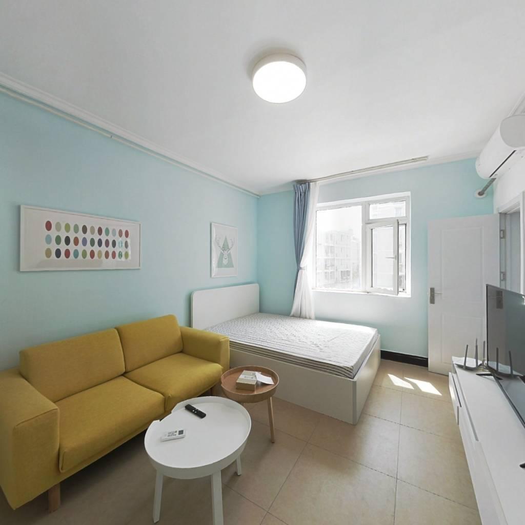 整租·金鱼池东区 1室1厅 南卧室图