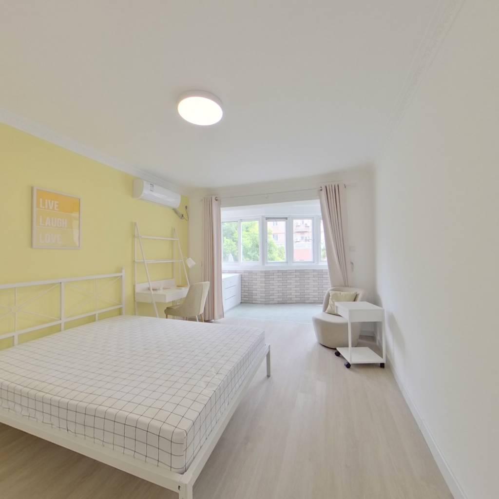 合租·天山新苑 4室1厅 南卧室图