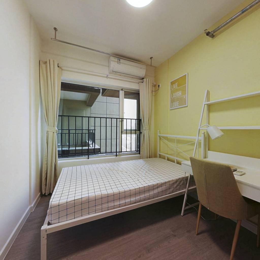 合租·首创天禧68 5室1厅 东卧室图