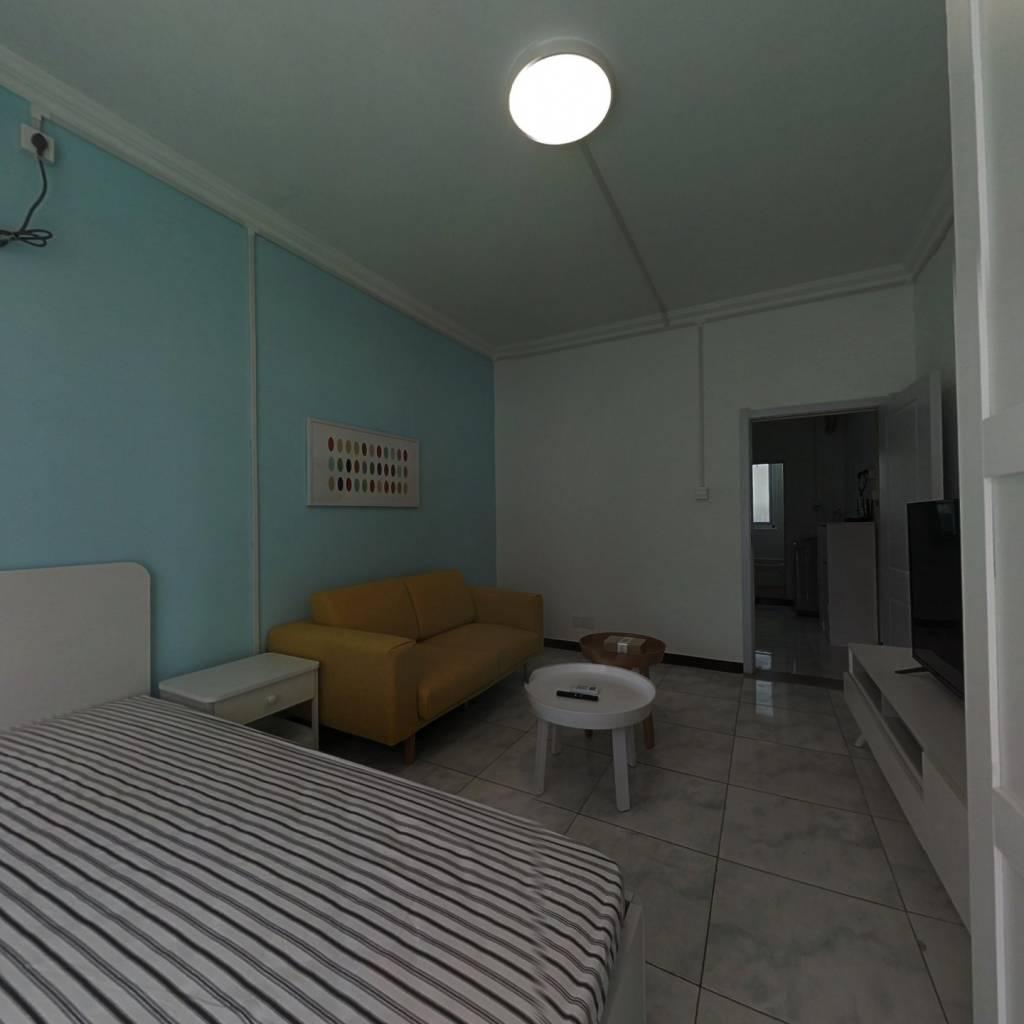 整租·模式口西里 1室1厅 南卧室图