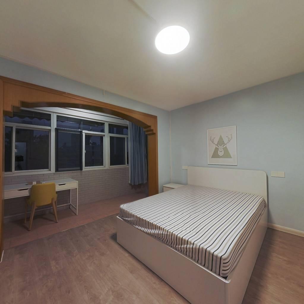 整租·热河南路 2室1厅 南北卧室图