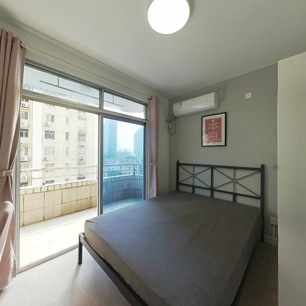 合租·珠江玫瑰花园(公寓) 3室1厅 西卧室图