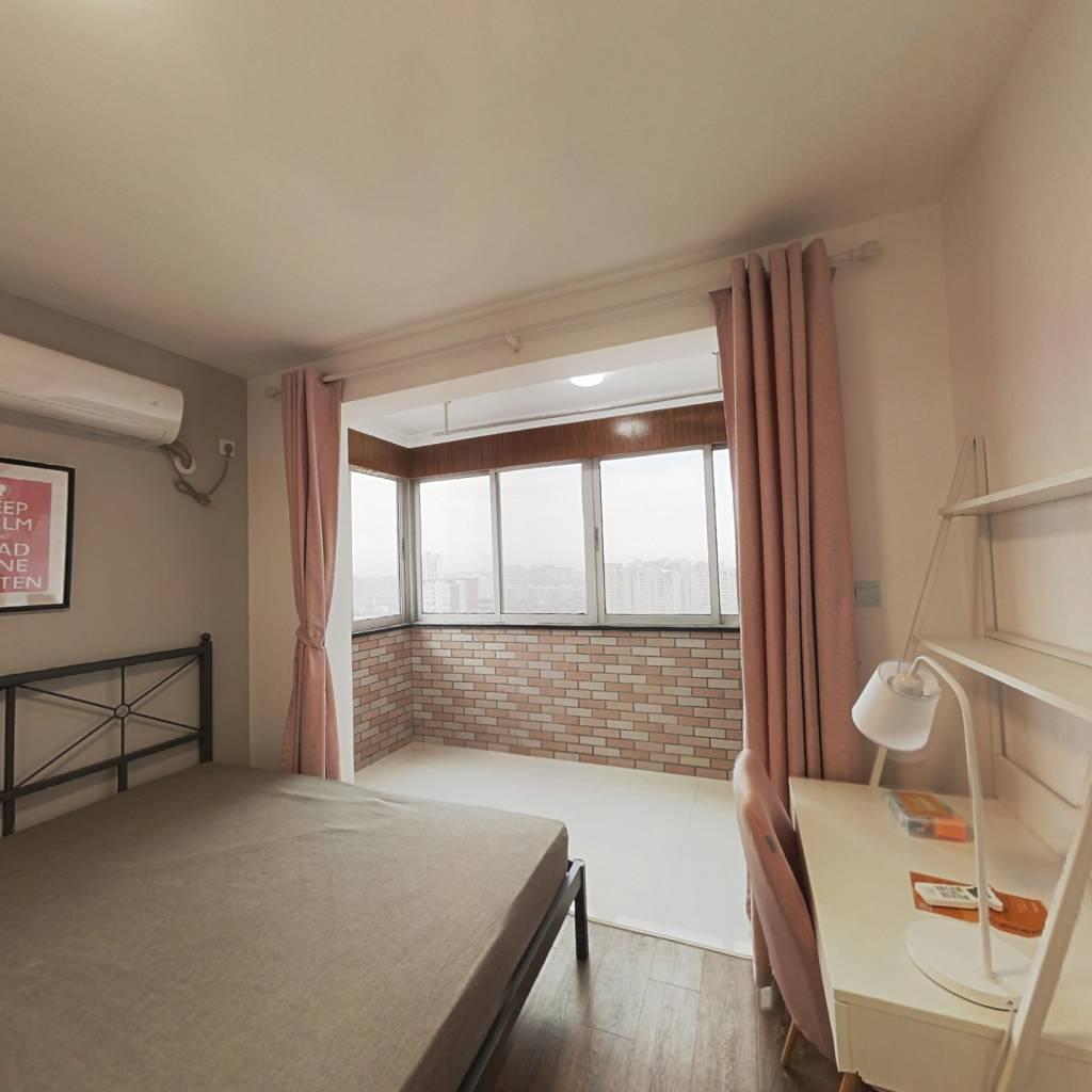合租·云台大厦 5室1厅 东北卧室图