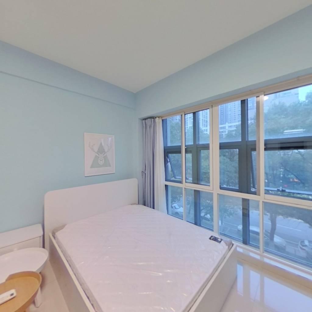 整租·高尔夫国际花园 1室1厅 南卧室图