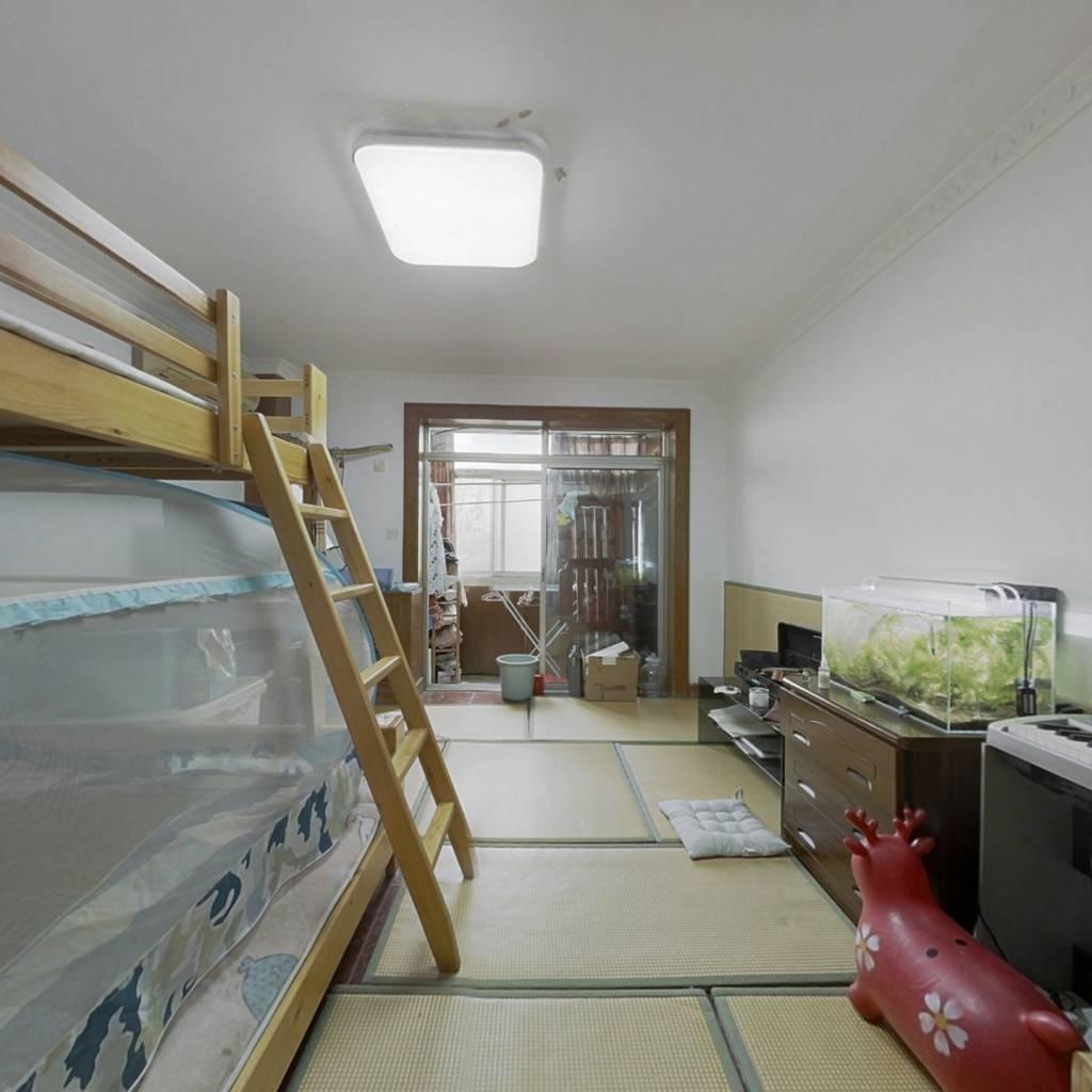 满五年唯一  南北通透板楼三居室