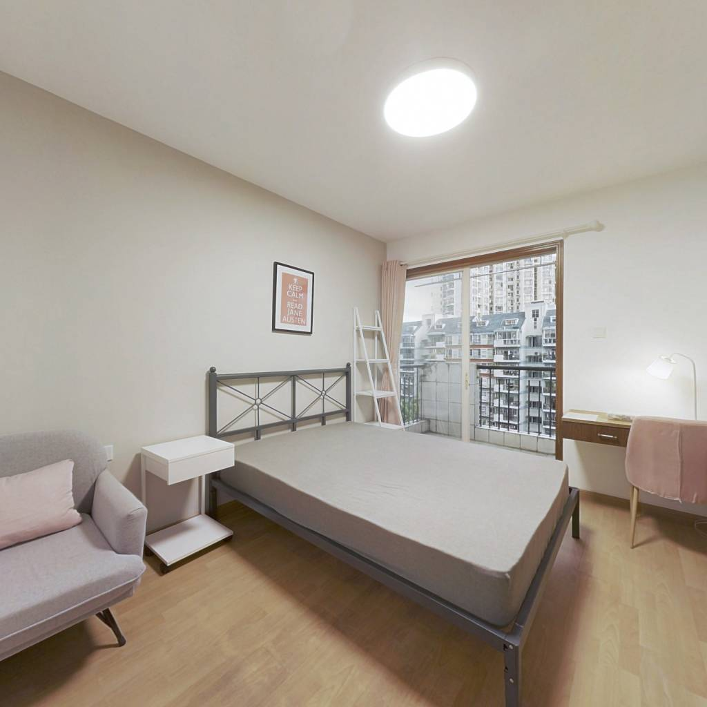 合租·水木华庭 4室1厅 南卧室图