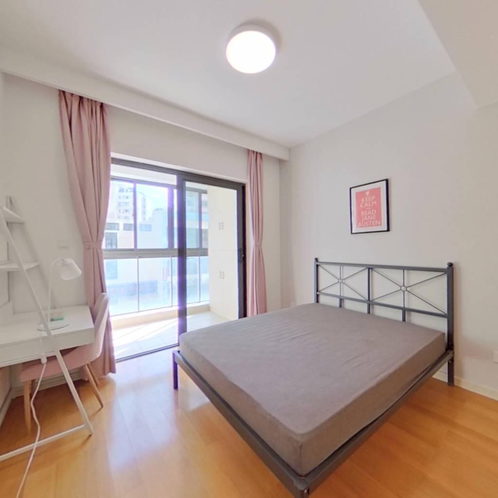 合租·张江公馆 3室1厅 南卧室图