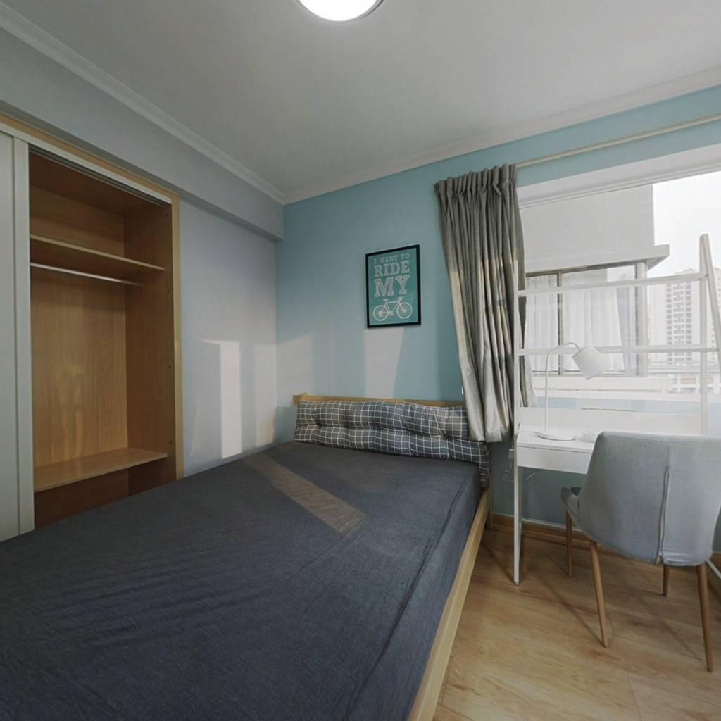 合租·泛悦城市广场 4室1厅 东卧室图