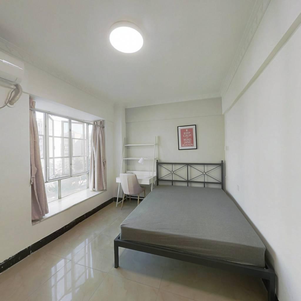 合租·乐意居花园 4室1厅 南卧室图