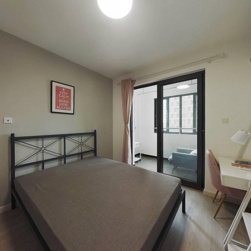 合租·红馥里 3室1厅 南卧室图