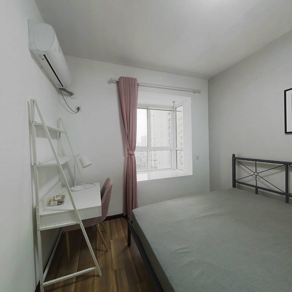 合租·新城丽景B区 3室1厅 南卧室图