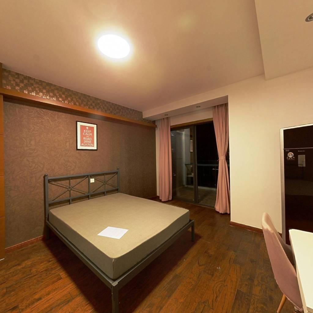 合租·金沙鹭岛一期 4室1厅 南卧室图