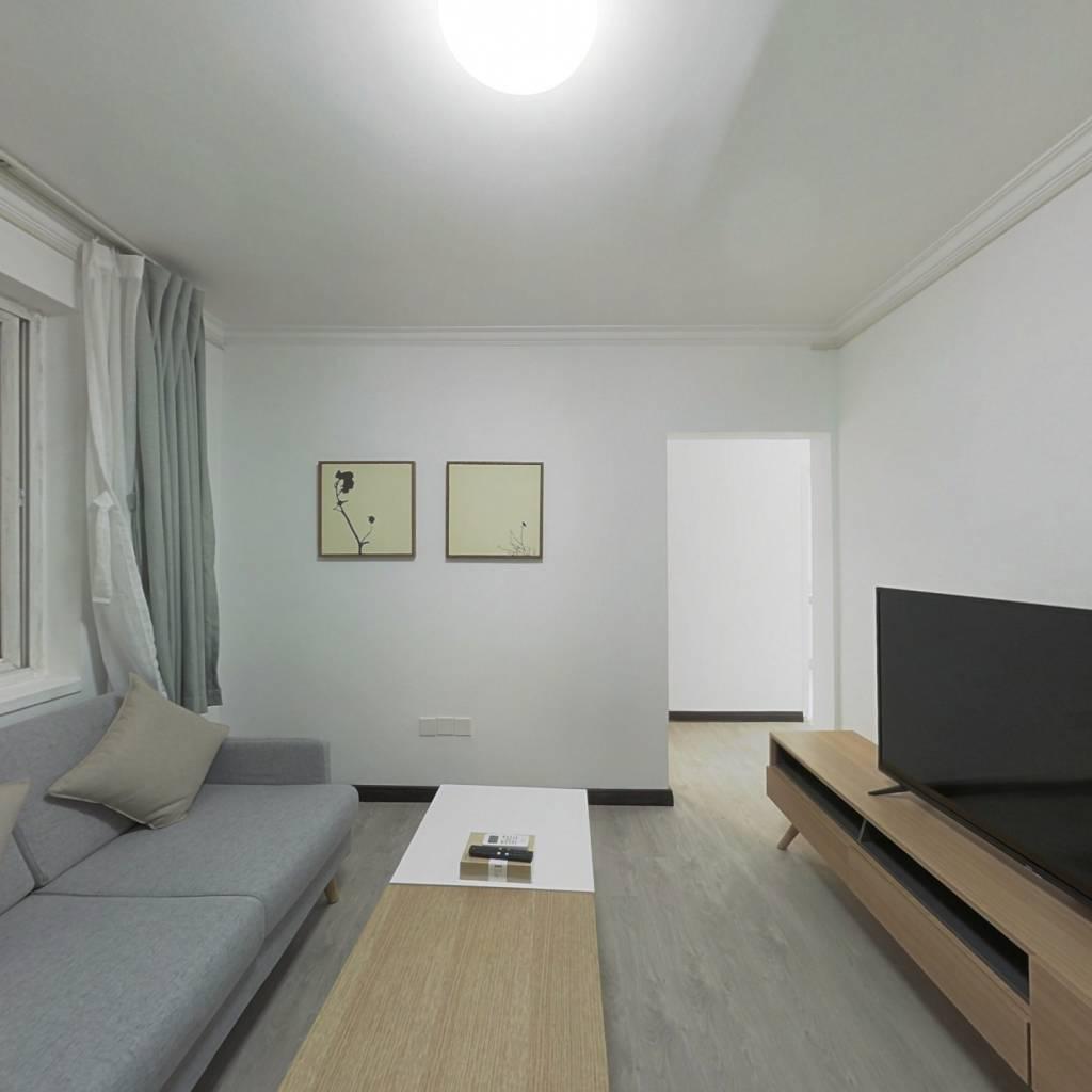 整租·西罗园四区 2室1厅 东南卧室图