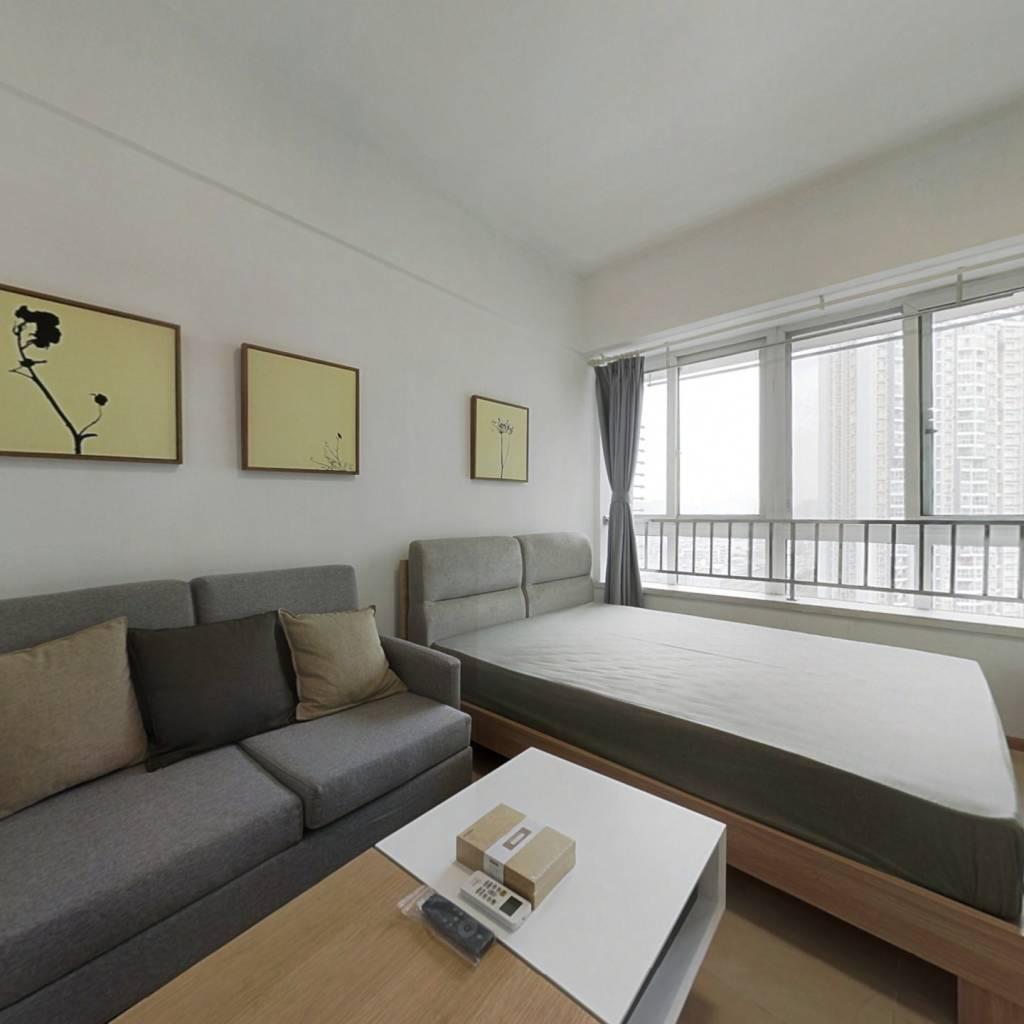 整租·万达锦华城 1室1厅 南卧室图