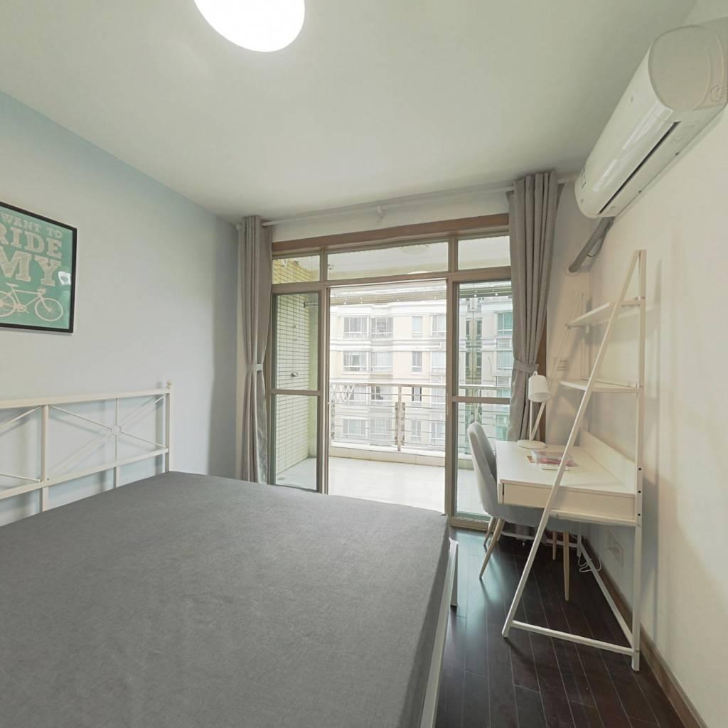 合租·金沙雅苑(二期) 4室1厅 北卧室图
