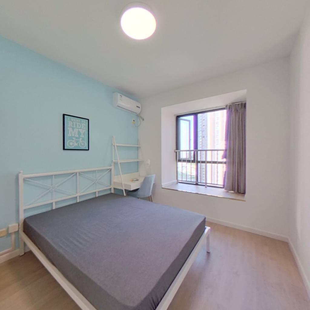 合租·恒大天府半岛 5室1厅 南卧室图