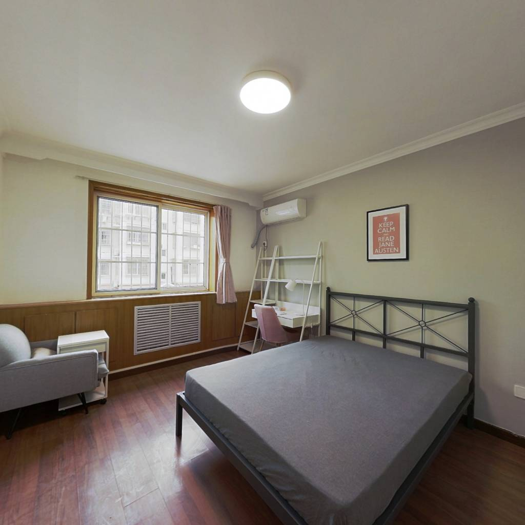 合租·程华里 4室1厅 北卧室图