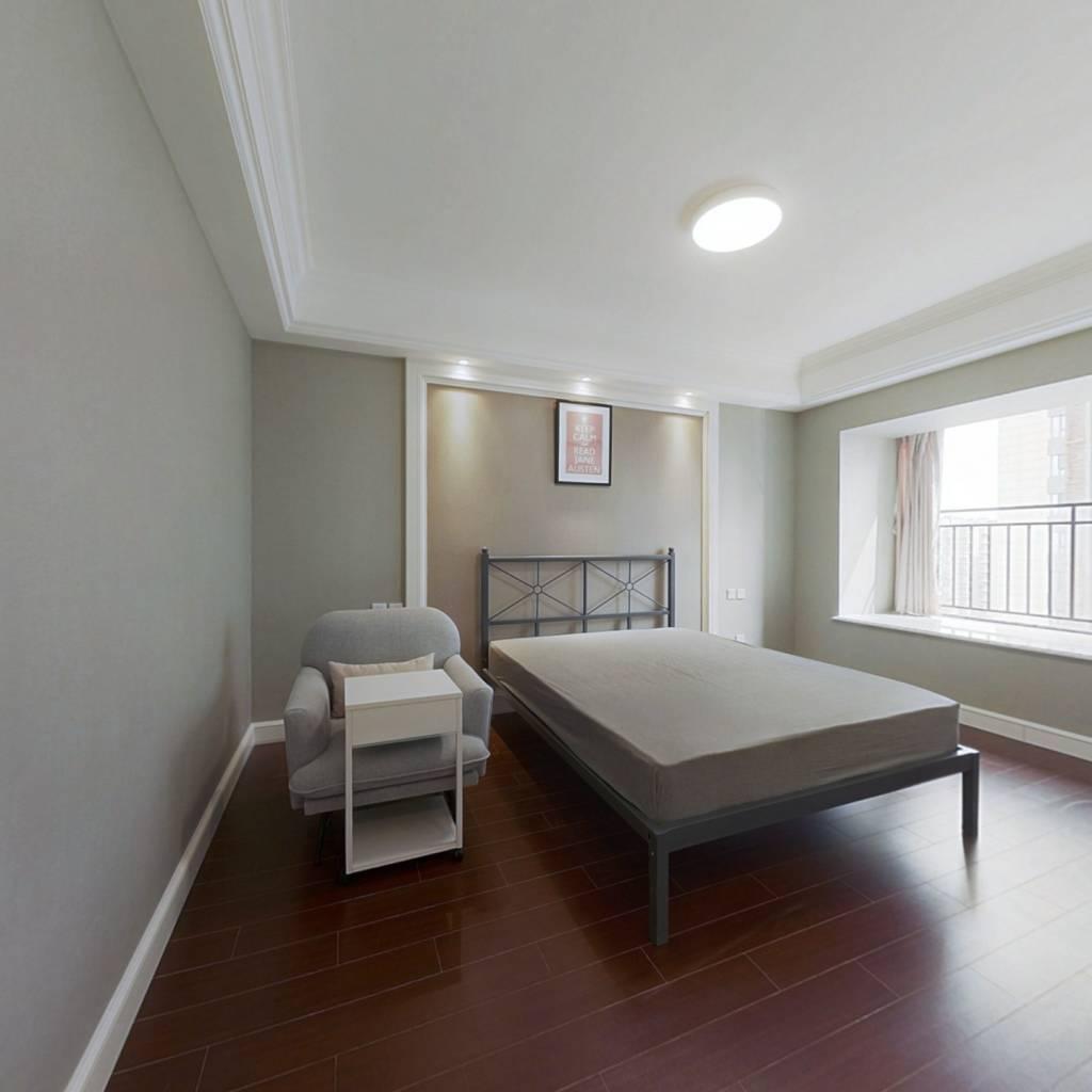 合租·青秀未遮山 4室1厅 东北卧室图