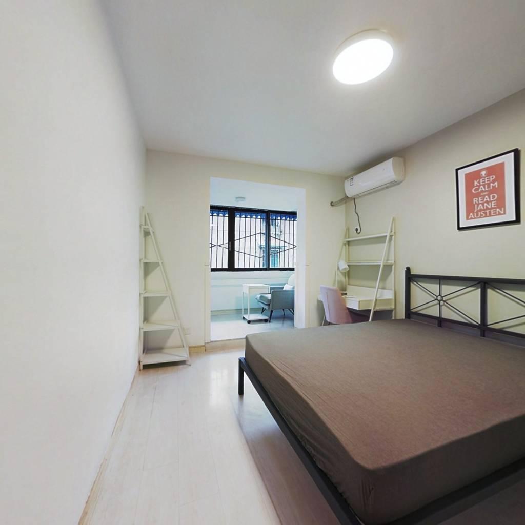 合租·祥和里82号 3室1厅 西南卧室图