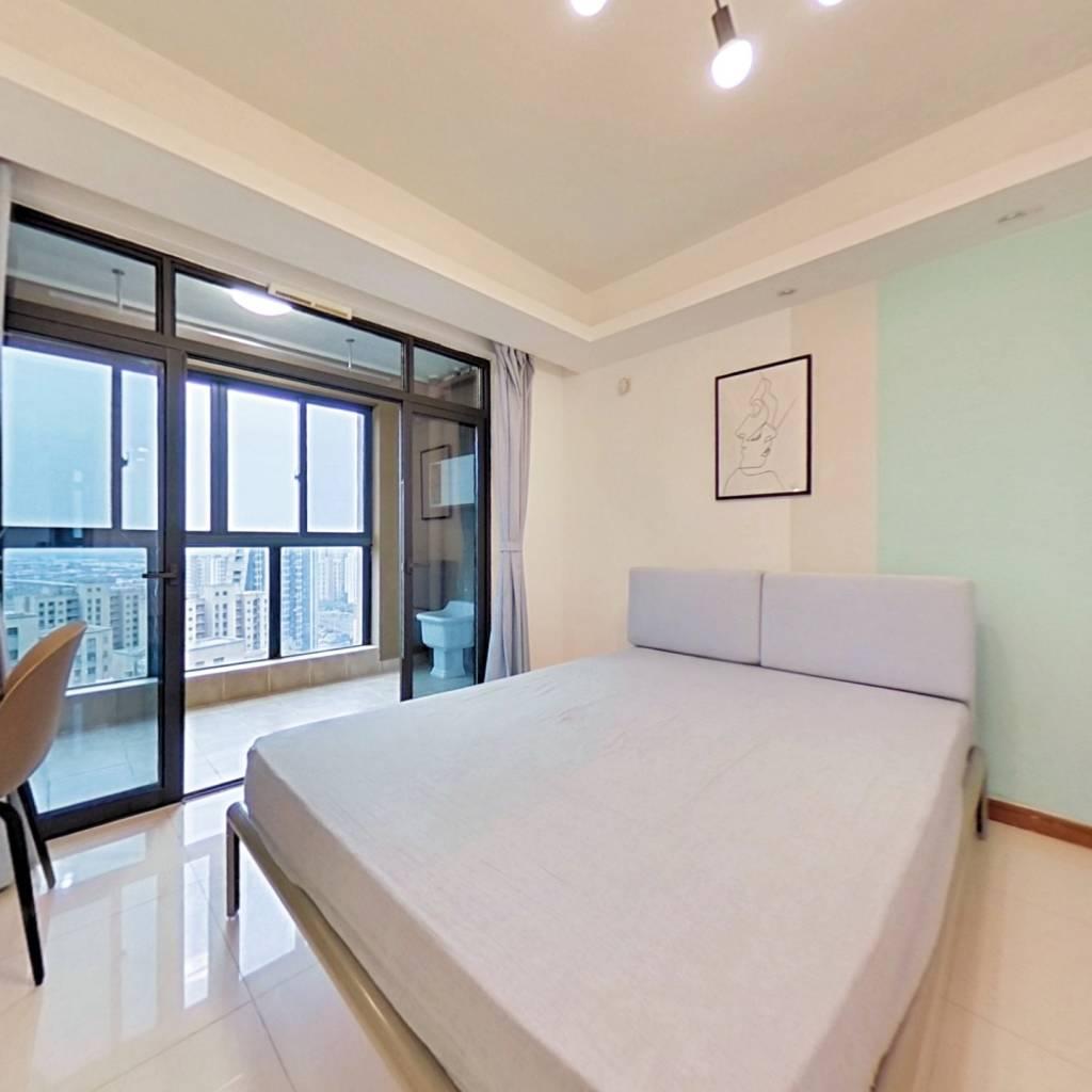 合租·新城悠活城 3室1厅 南卧室图