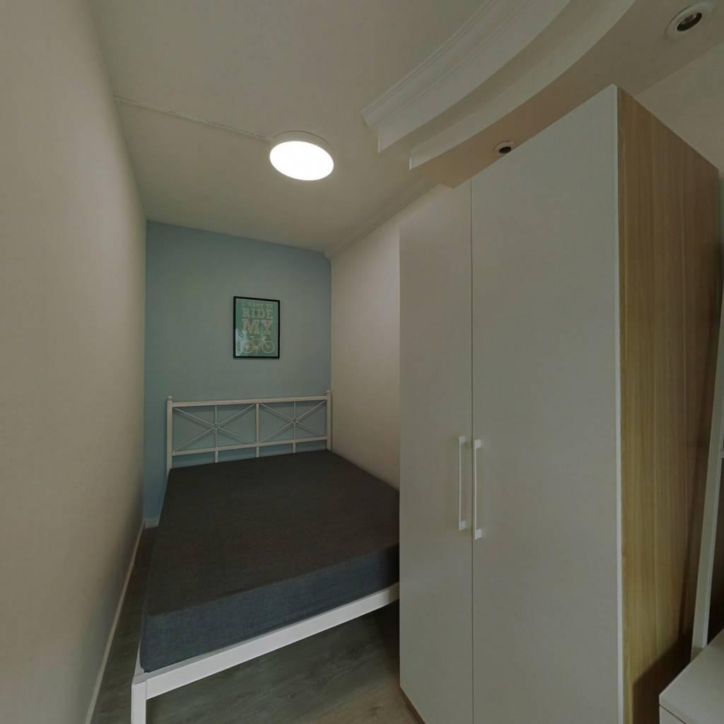 合租·龙津大厦 3室1厅 西卧室图
