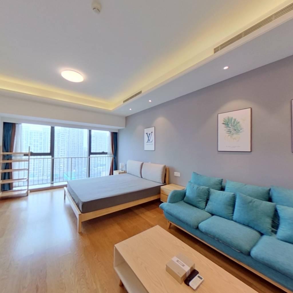 整租·龙湖滟澜星座 1室1厅 北卧室图