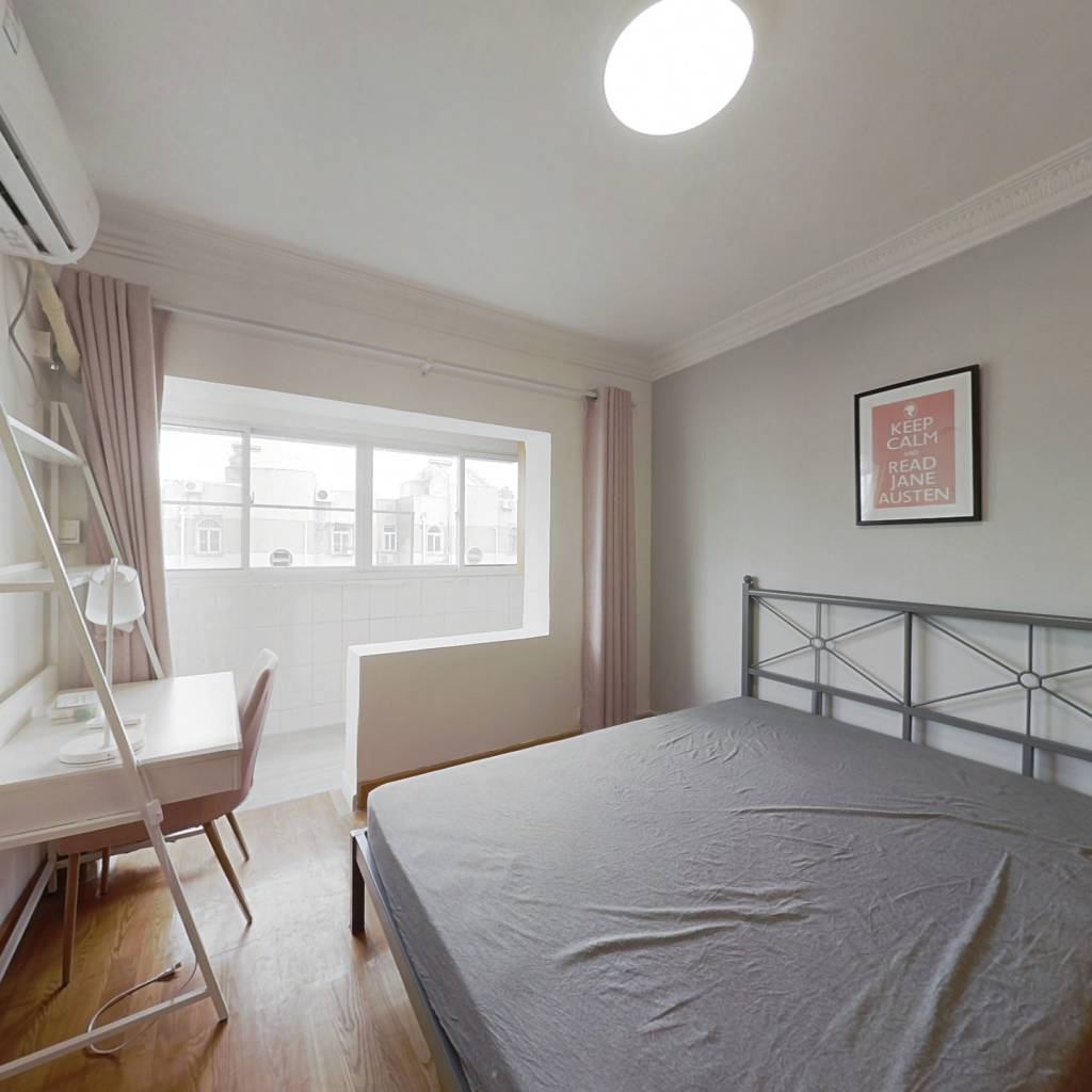 合租·江滨新寓 3室1厅 北卧室图