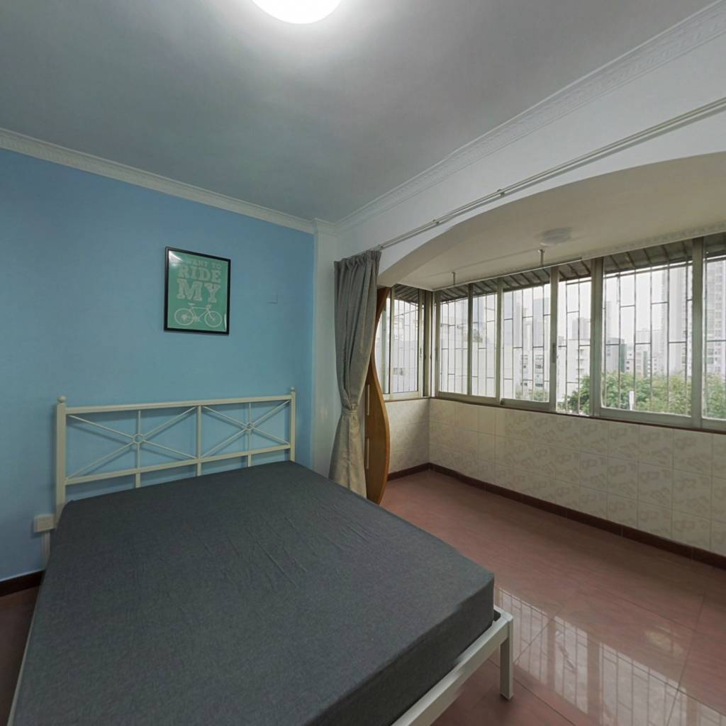 合租·艺丰花园A区 4室1厅 南卧室图